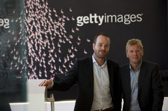Getty Images Scandinavia business leaders, Tom Tramborg and Bjorn Johansen