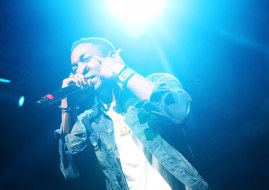 AUSTIN, TX - MARCH 16:  Kendrick Lamar performs onstage at Fader Fort presented by Converse during SXSW on March 16, 2012 in Austin, Texas.  (Photo by Roger Kisby/Getty Images)