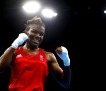 RIO DE JANEIRO, BRAZIL - AUGUST 20:  Nicola Adams of Great Britain celebrates winning the gold during the Women's Fly (48-51kg) Final Bout against Sarah Ourahmoune of France on Day 15 of the Rio 2016 Olympic Games at Riocentro - Pavilion 6 on August 20, 2016 in Rio de Janeiro, Brazil.  (Photo by Dean Mouhtaropoulos/Getty Images)