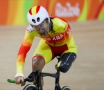 RIO DE JANEIRO, BRAZIL - SEPTEMBER 09:  Juan Jose Mendez Fernandez of Spain competes in the Men's 3km Pursuit C1 Individual Pursuit Qualifying on day 2 of the Rio 2016 Paralympics at Rio Olympic Velodrome on September 9, 2016 in Rio de Janeiro, Brazil.  (Photo by Buda Mendes/Getty Images)