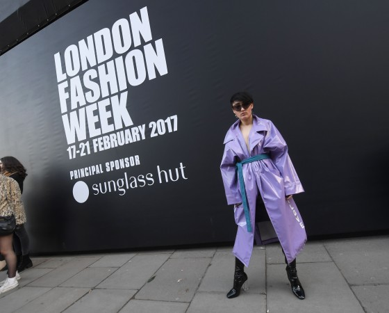 LONDON, ENGLAND - FEBRUARY 17:  Guests outside 180 The Strand during London Fashion Week February 2017 collections on February 17, 2017 in London, England.  (Photo by Stuart C. Wilson/Getty Images)